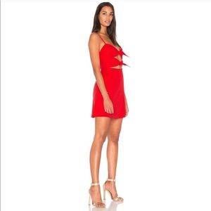 bb3472cce1f Fame and Partners Dresses - Fame   Partners X Revolve Red Mini Dress